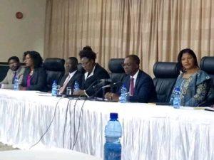 MEC press Briefing in Lilongwe